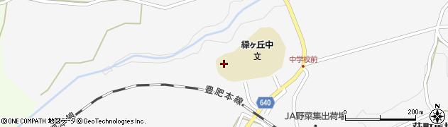 大分県竹田市荻町馬場851周辺の地図