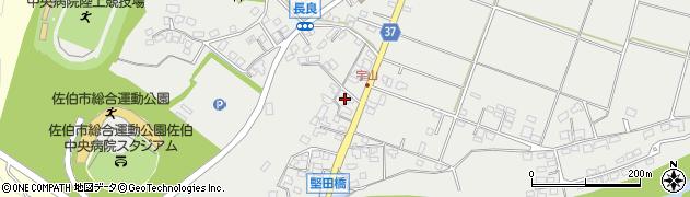 大分県佐伯市長良755周辺の地図