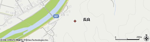 大分県佐伯市長良2521周辺の地図