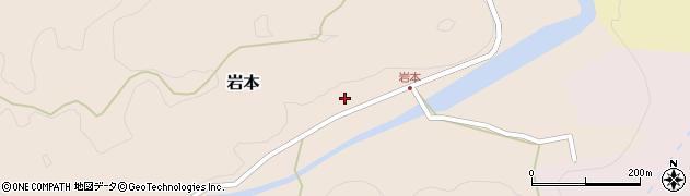 大分県竹田市岩本1838周辺の地図