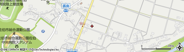 大分県佐伯市長良809周辺の地図