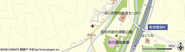 大分県佐伯市長谷5585周辺の地図