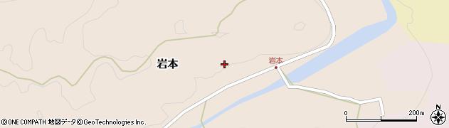 大分県竹田市岩本1808周辺の地図
