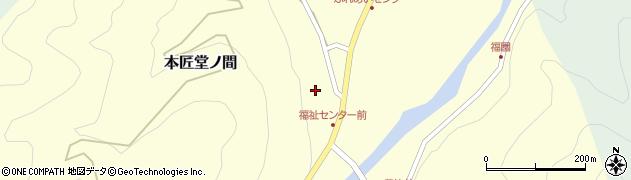 大分県佐伯市本匠大字堂ノ間329周辺の地図