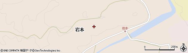 大分県竹田市岩本岩本周辺の地図