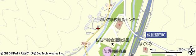 大分県佐伯市長谷5640周辺の地図