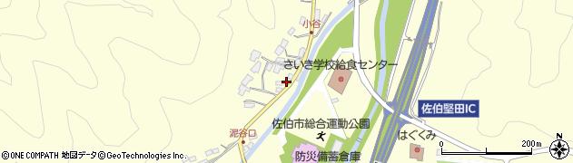 大分県佐伯市長谷5634周辺の地図