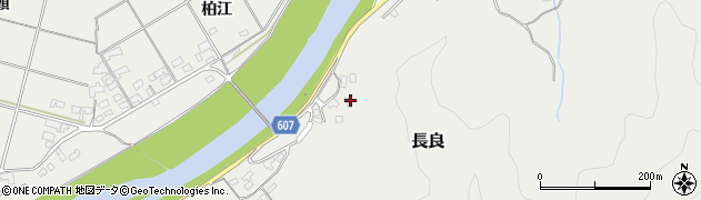 大分県佐伯市長良2481周辺の地図