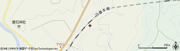 大分県佐伯市直川大字下直見2760周辺の地図