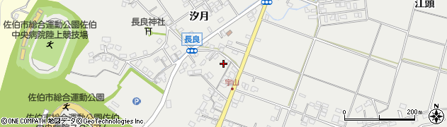 大分県佐伯市長良770周辺の地図