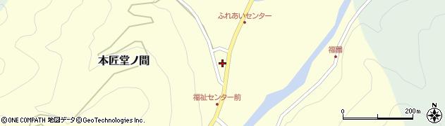 大分県佐伯市本匠大字堂ノ間307周辺の地図