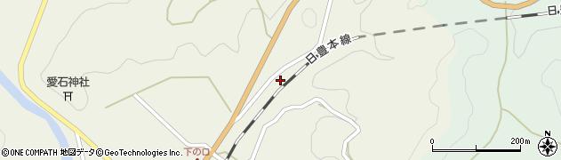 大分県佐伯市直川大字下直見2761周辺の地図