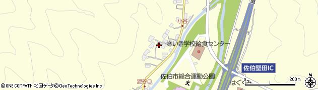 大分県佐伯市長谷5630周辺の地図