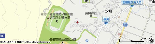 大分県佐伯市長良318周辺の地図