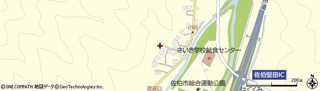 大分県佐伯市長谷5657周辺の地図