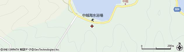 大分県佐伯市鶴見大字中越浦87周辺の地図