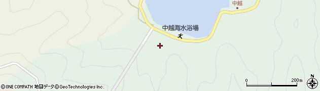 大分県佐伯市鶴見大字中越浦71周辺の地図