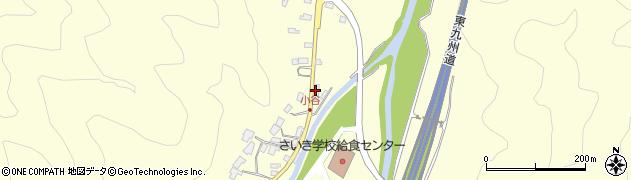 大分県佐伯市長谷5929周辺の地図