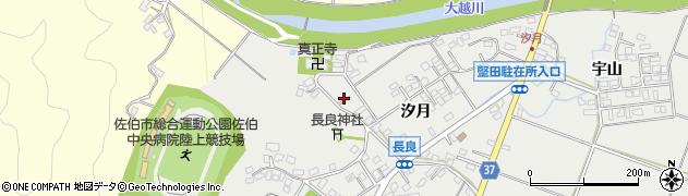大分県佐伯市長良188周辺の地図