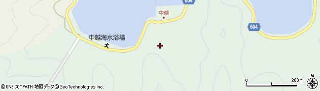 大分県佐伯市鶴見大字中越浦150周辺の地図
