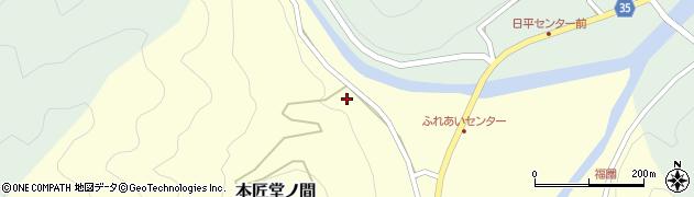 大分県佐伯市本匠大字堂ノ間118周辺の地図