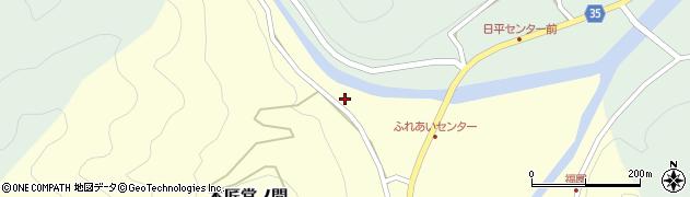 大分県佐伯市本匠大字堂ノ間158周辺の地図