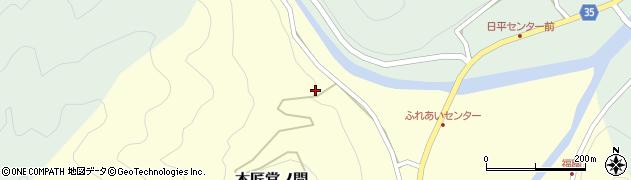 大分県佐伯市本匠大字堂ノ間29周辺の地図