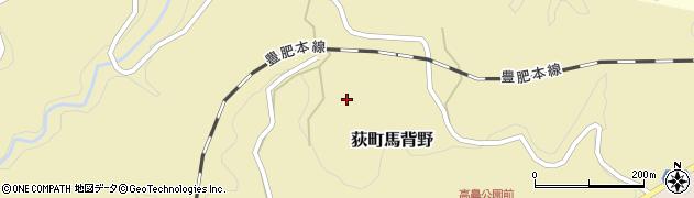 大分県竹田市荻町馬背野419周辺の地図