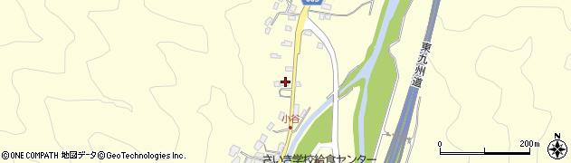 大分県佐伯市長谷5727周辺の地図