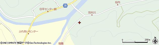 大分県佐伯市本匠大字因尾1029周辺の地図