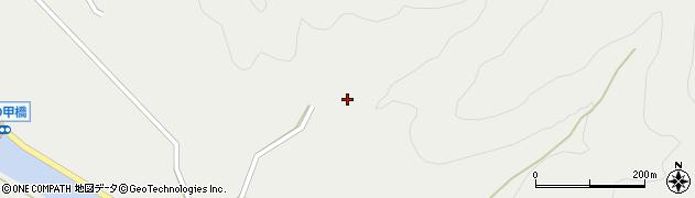 大分県佐伯市木立6199周辺の地図