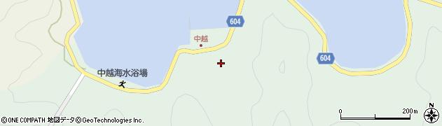 大分県佐伯市鶴見大字中越浦179周辺の地図