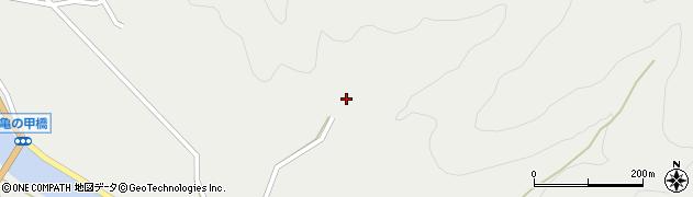 大分県佐伯市木立6318周辺の地図