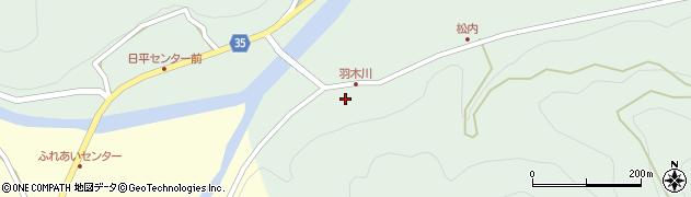 大分県佐伯市本匠大字因尾1061周辺の地図