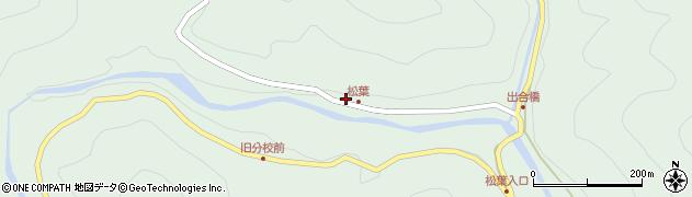 大分県佐伯市本匠大字山部603周辺の地図