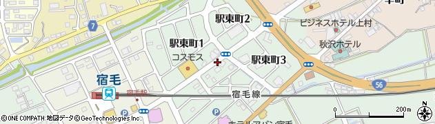 高知県宿毛市駅東町周辺の地図