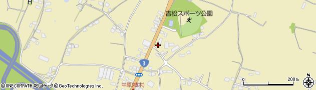 熊本県熊本市北区植木町亀甲周辺の地図