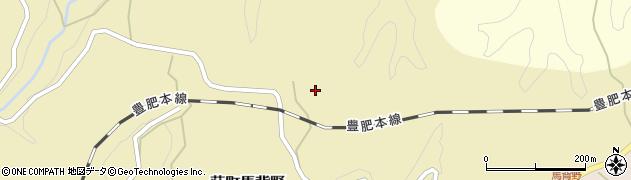 大分県竹田市荻町馬背野543周辺の地図