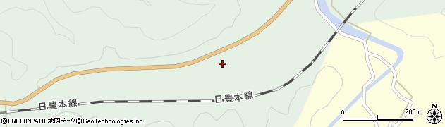 大分県佐伯市弥生大字江良430周辺の地図