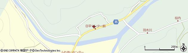 大分県佐伯市本匠大字因尾144周辺の地図
