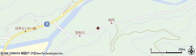 大分県佐伯市本匠大字因尾993周辺の地図