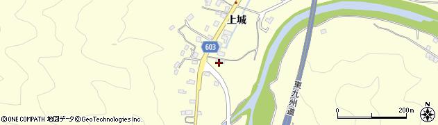 大分県佐伯市長谷5854周辺の地図
