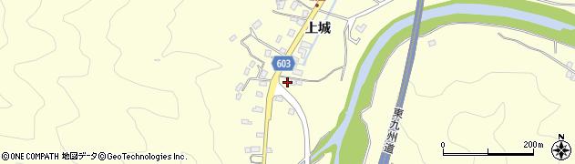 大分県佐伯市長谷5858周辺の地図