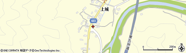 大分県佐伯市長谷5846周辺の地図