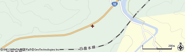 大分県佐伯市弥生大字江良454周辺の地図