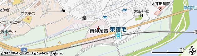 高知県宿毛市南沖須賀周辺の地図