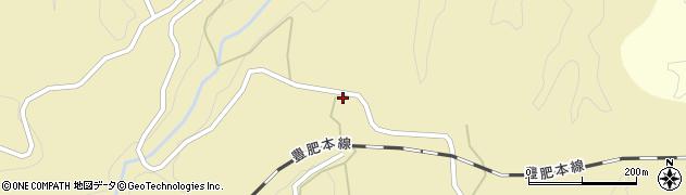 大分県竹田市荻町馬背野370周辺の地図