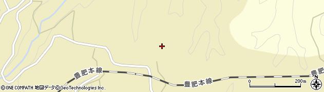大分県竹田市荻町馬背野499周辺の地図