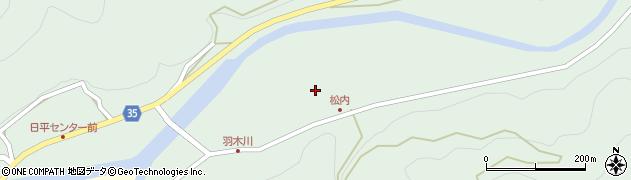 大分県佐伯市本匠大字因尾937周辺の地図