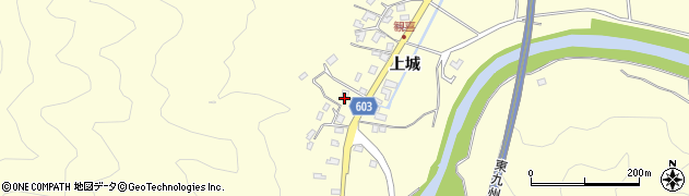 大分県佐伯市長谷6114周辺の地図